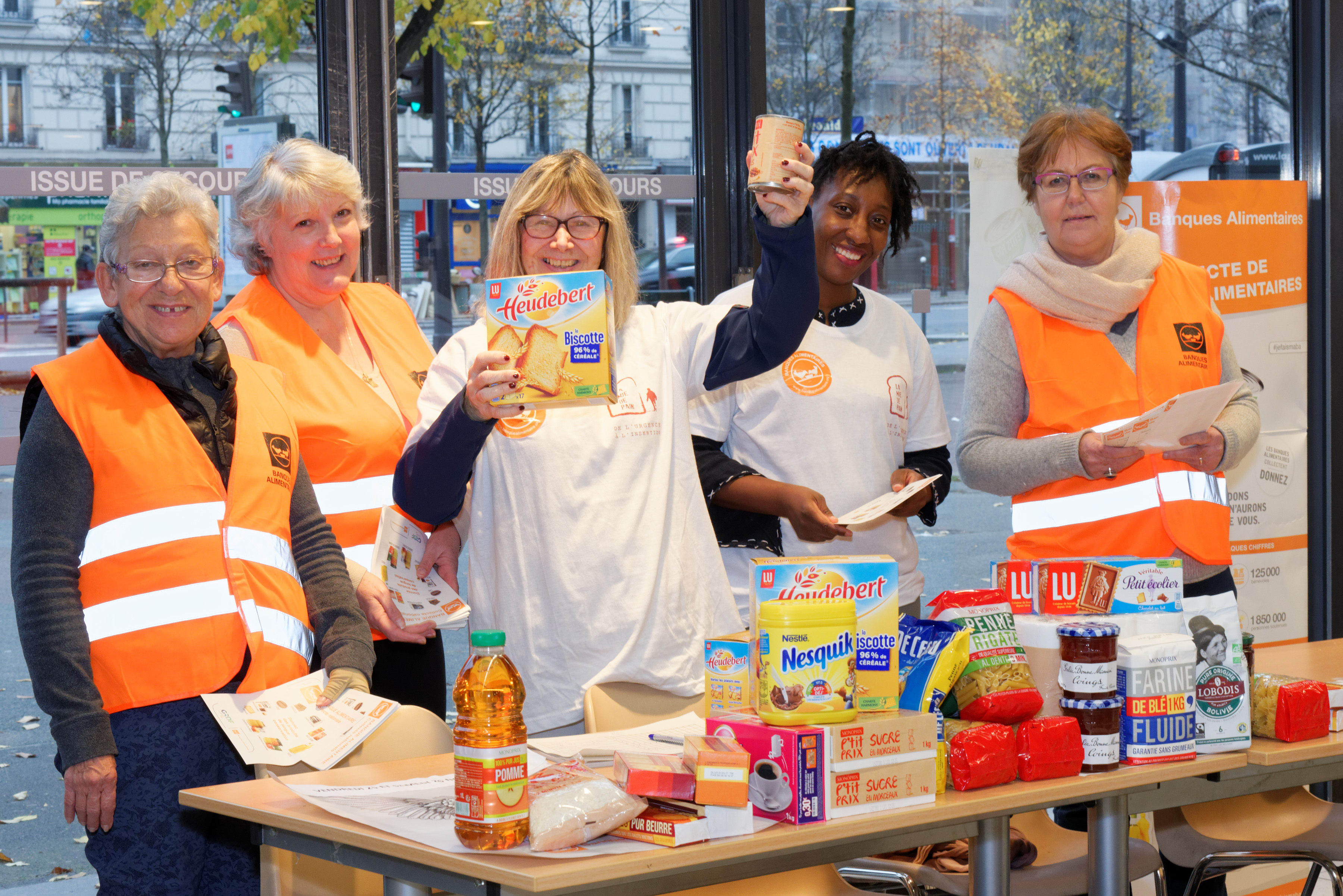Collecte nationale Banques Alimentaires